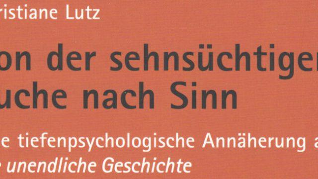 """Online Buchvorstellung: Christiane Lutz """"Von der sehnsüchtigen Suche nach Sinn"""" am 17.12.2021 um 18:00 Uhr"""