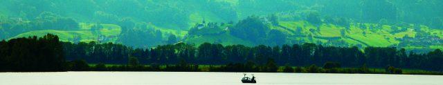 Der obere Zürichsee bei Bollingen
