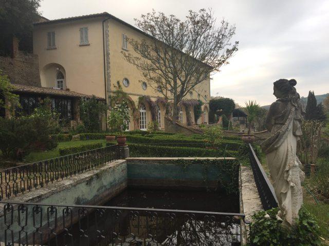 Der Garten der Renaissance-Villa