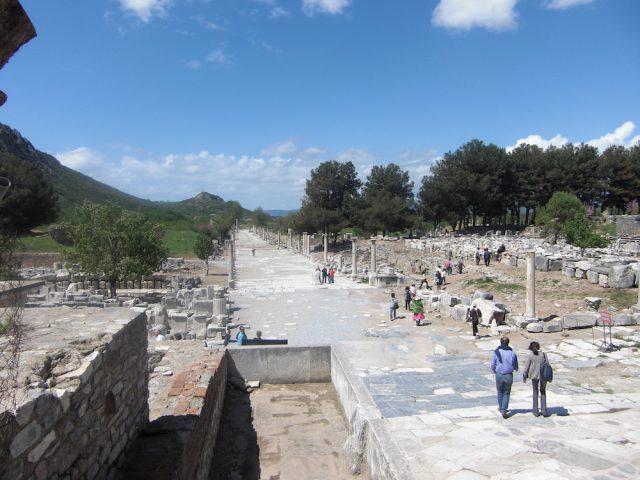 Hafenstrasse in Ephesos