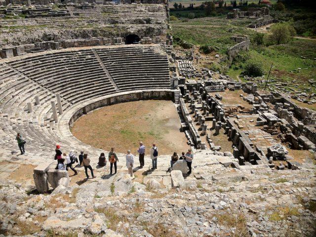 Das Amphitheater in Milet