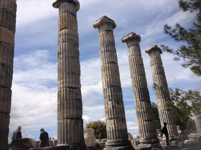Priene (Reste früherer Tempel)