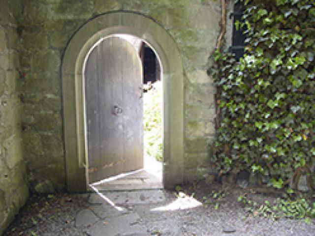 Tür zum Turm in Bollingen