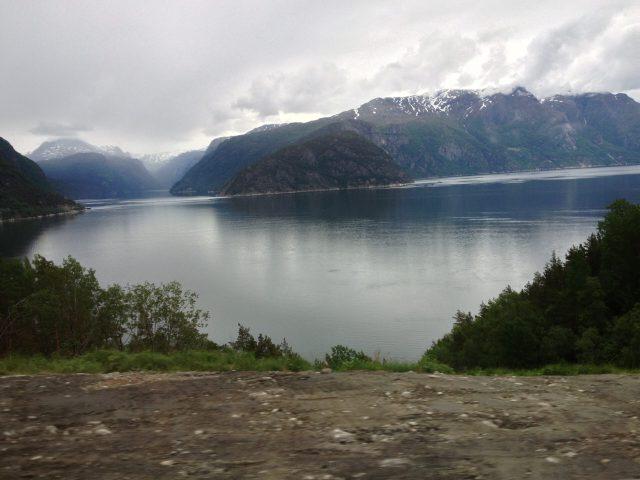 in den Fjorden