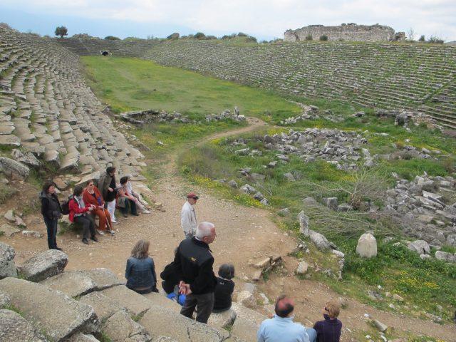Im Stadion in Aphrodisias
